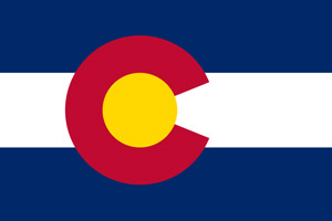 Colorado flag showing that driver improvement course is DMV approved