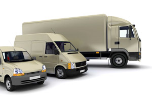 Image of truck indicating that DTA course can be used to train company drivers